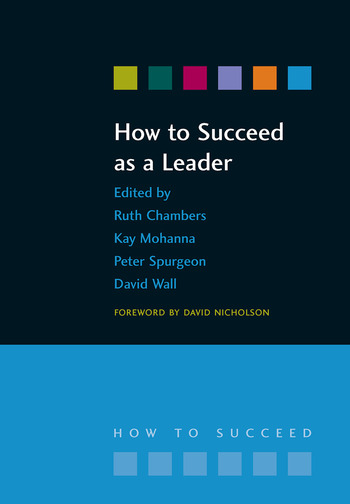 How to Succeed as a Leader book cover