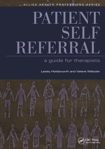 Patient Self Referral A Guide for Therapists book cover