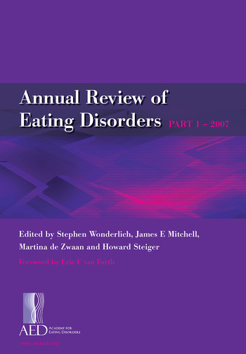 Annual Review of Eating Disorders Pt. 1 book cover