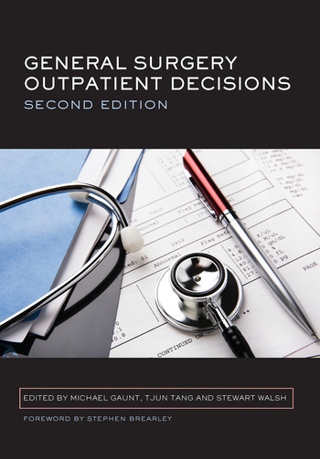 General Surgery Outpatient Decisions book cover