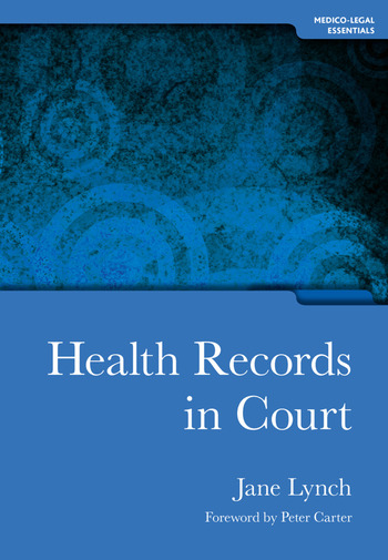 Health Records in Court book cover