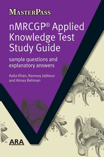 NMRCGP Applied Knowledge Test Study Guide Sample Questions and Explanatory Answers book cover