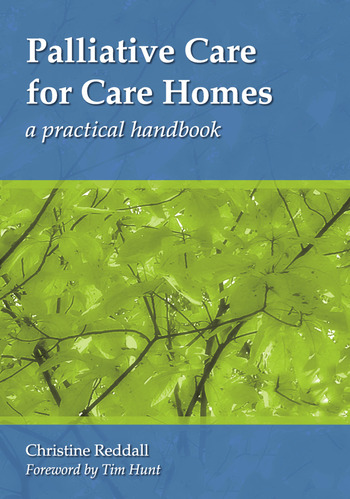 Palliative Care for Care Homes A Practical Handbook book cover