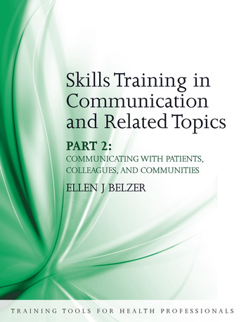 Skills Training in Communication and Related Topics Pt. 2 book cover