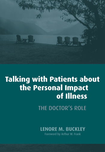 Talking with Patients About the Personal Impact of Ilness The Doctor's Role book cover