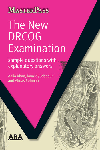 The New DRCOG Examination Sample Questions with Explanatory Answers book cover