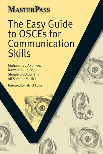 The Easy Guide to OSCEs for Communication Skills book cover