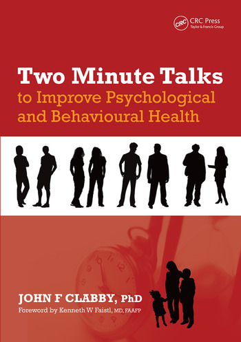 Two Minute Talks to Improve Psychological and Behavioral Health book cover