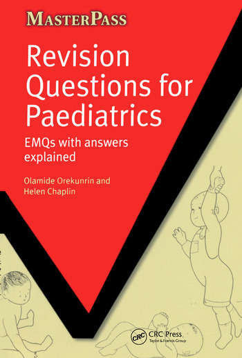 Revision Questions for Paediatrics EMQs with Answers Explained book cover