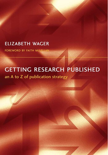 Getting Research Published An A-Z of Publication Strategy, Second Edition book cover