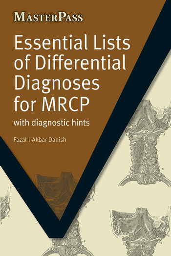 Essential Lists of Differential Diagnoses for MRCP with Diagnostic Hints book cover