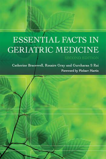 Essential Facts in Geriatric Medicine book cover
