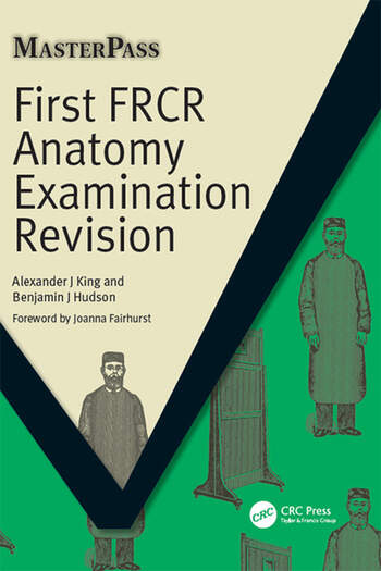 First FRCR Anatomy Examination Revision book cover
