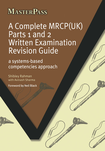A Complete MRCP(UK) A Systems-Based Competencies Approach book cover