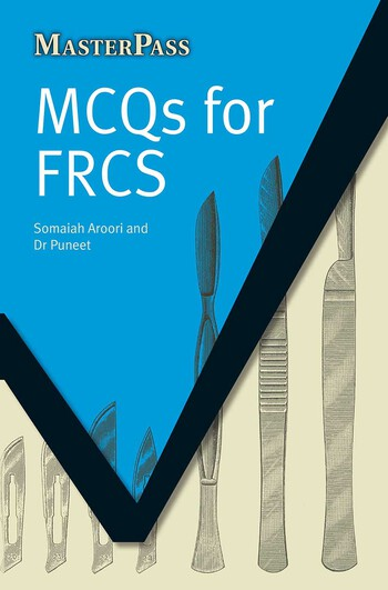 MCQs for FRCS book cover
