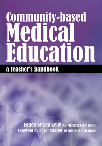 Community-Based Medical Education A Teacher's Handbook book cover