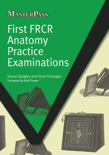 First FRCR Anatomy Practice Examinations book cover