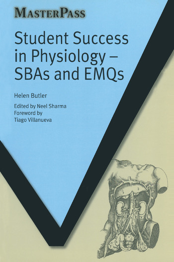 Student Success in Physiology SBAs and EMQs book cover