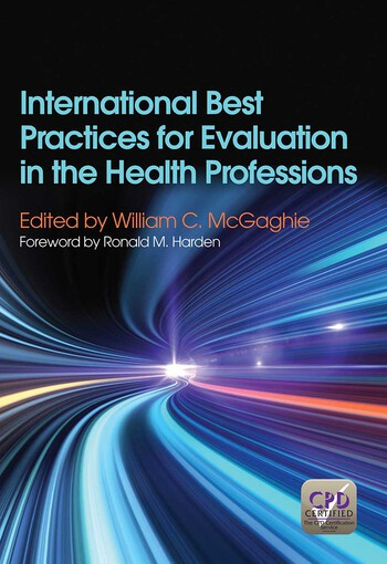 International Best Practices for Evaluation in the Health Professions book cover