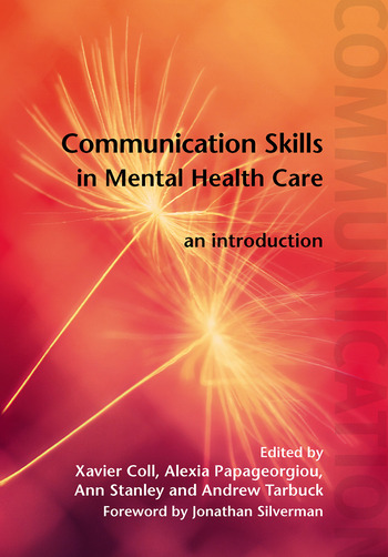 Communication Skills in Mental Health Care An Introduction book cover