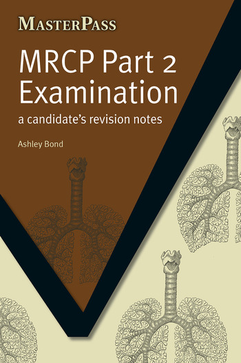 MRCP Part 2 Examination A Candidate's Revision Notes book cover