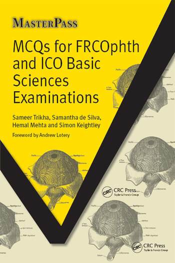 MCQs for FRCOphth and ICO Basic Sciences Examinations book cover