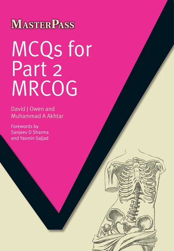 MCQS for Part 2 MRCOG book cover