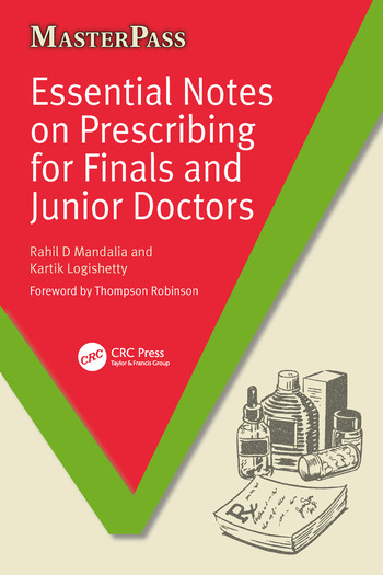 Essential Notes on Prescribing for Finals and Junior Doctors book cover