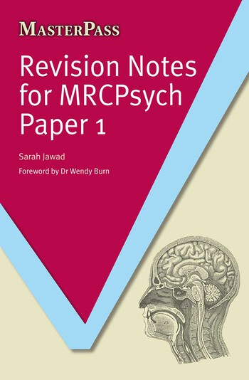 Revision Notes for MRCPsych Paper 1 book cover