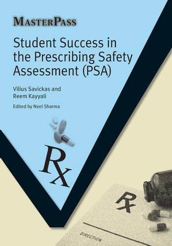 Student Success in the Prescribing Safety Assessment (PSA) book cover