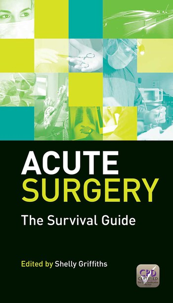 Acute Surgery The Survival Guide book cover