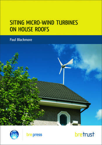 Siting Micro-Wind Turbines on House Roofs (FB 18) book cover