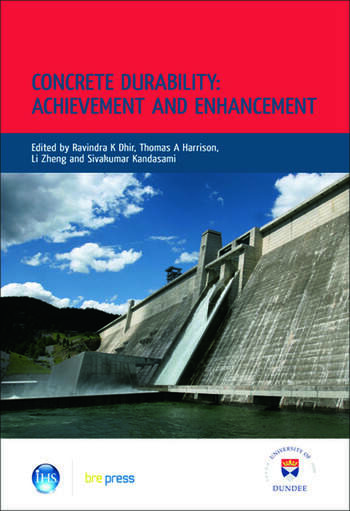 Concrete Durability: Achievement and Enhancement Proceedings of the International Conference, Dundee, July 2008 (EP 88) book cover