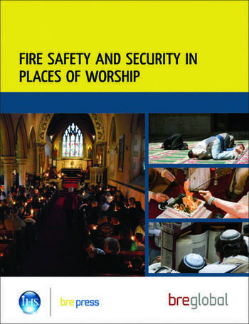 Fire Safety and Security in Places of Worship (BR 499) book cover