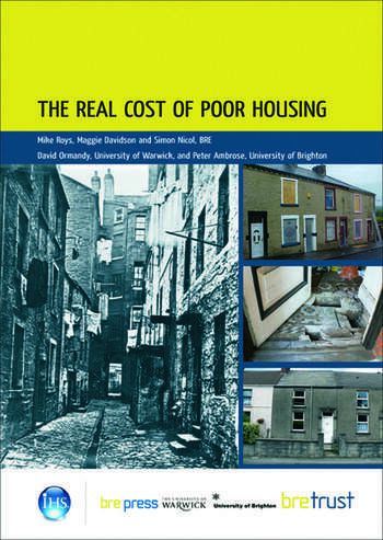 The Real Cost of Poor Housing (FB 23) book cover