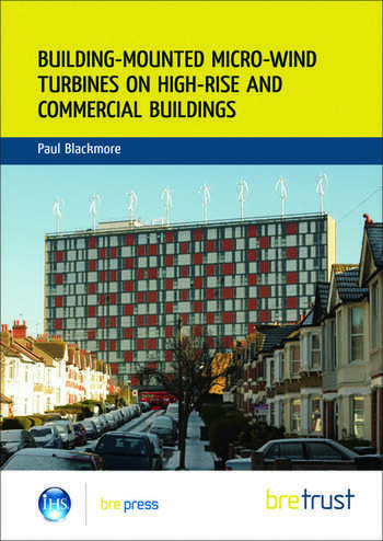 Building-mounted Micro-wind Turbines on High-rise and Commercial Buildings (FB 22) book cover