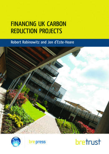 Financing UK Carbon Reduction Projects (FB 31) book cover
