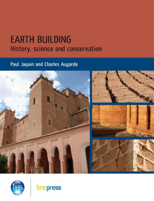 Earth Building History, Science and Conservation (EP 101) book cover
