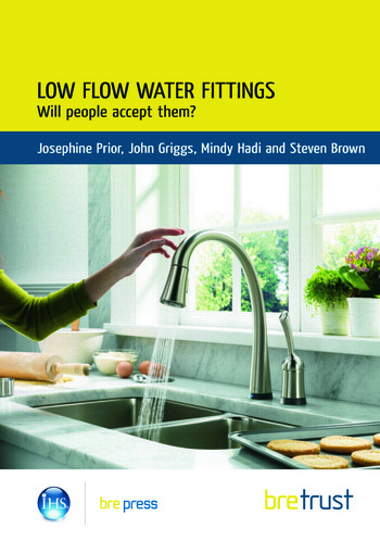 Low Flow Water Fittings: Will People Accept Them? book cover