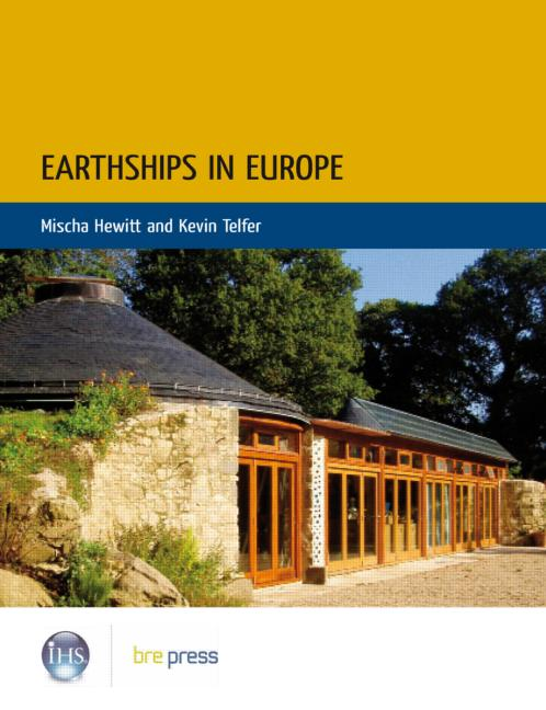 Earthships in Europe book cover