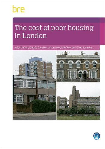 The Cost of Poor Housing in London book cover