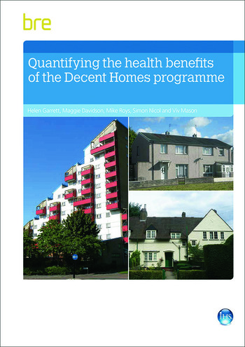 Quantifying The Health Benefits of the Decent Homes Programme book cover