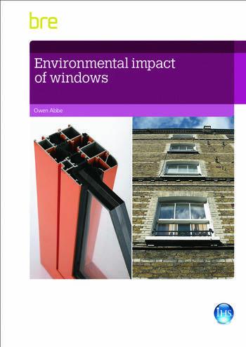 Environmental Impact of Windows book cover