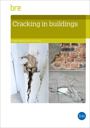 Cracking in Buildings BR292 2e book cover