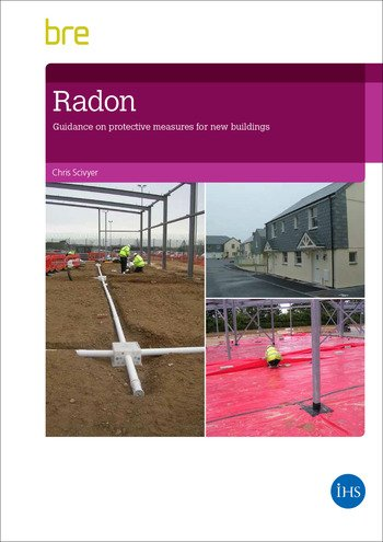 Radon Guidance on Protective Measures for New Buildings (2015 Edition) book cover