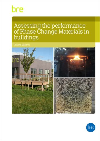 Assessing the Performance of Phase Change Materials in Buildings book cover