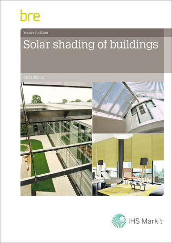 Solar Shading of Buildings book cover