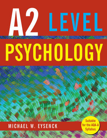 A2 Level Psychology book cover