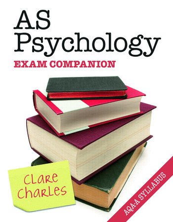 AS Psychology Exam Companion book cover