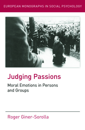 passion and moral judgement Fisher ames and political judgment: reason, passion, and vehement to every emotion or passion, blair that moral judgment.